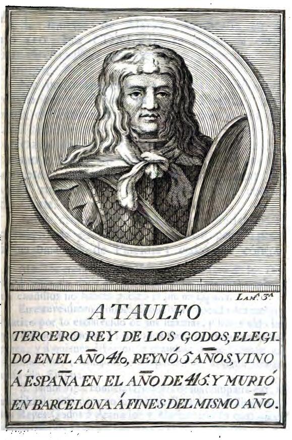 Rey Visigodo Ataúlfo
