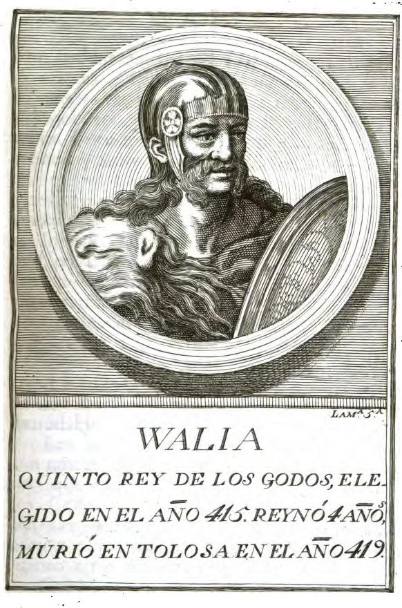 Rey Visigodo Walia