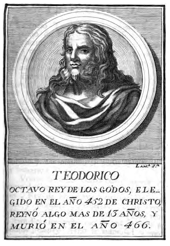 Rey Visigodo Teodorich II