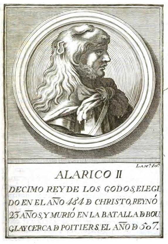 Rey Visigodo Alarico II