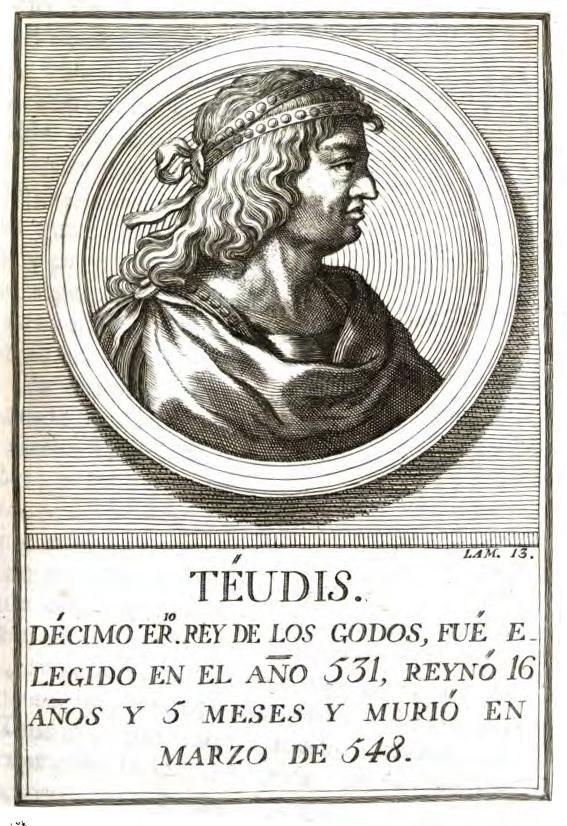 Rey Visigodo Teudis