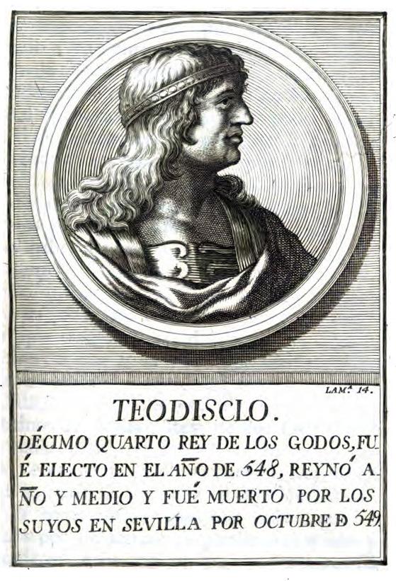 Rey Visigodo Teudiselo I