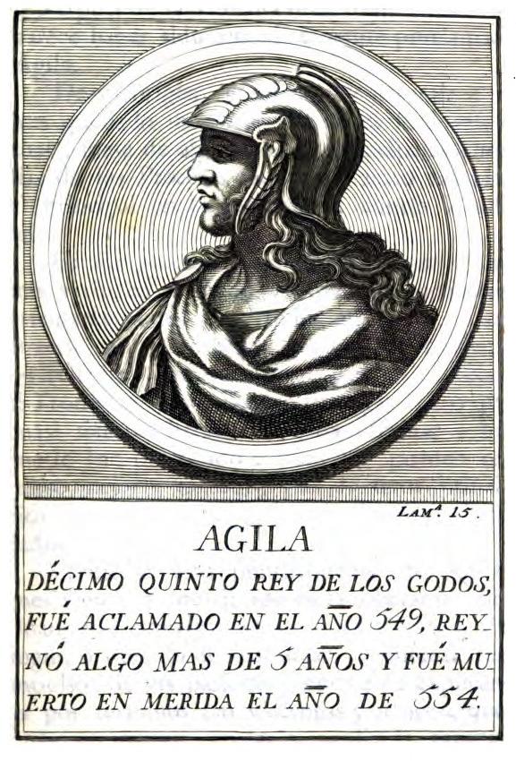 Rey Visigodo Agila I