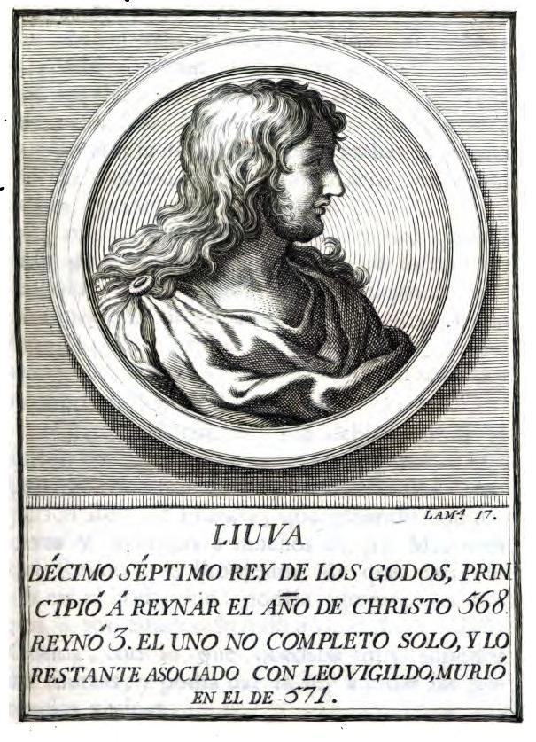 Rey Visigodo Liuva I