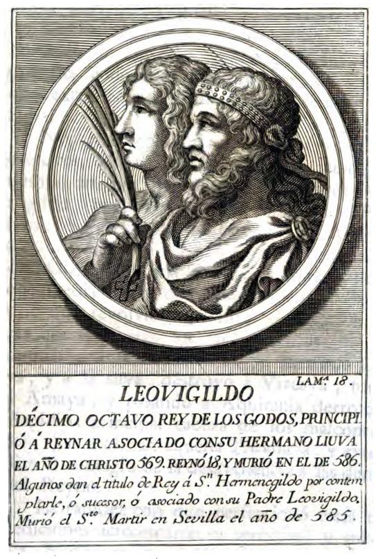 Rey Visigodo Leovigildo