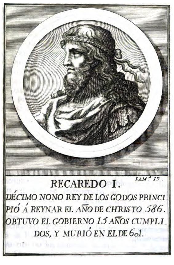 Rey Visigodo Recaredo I