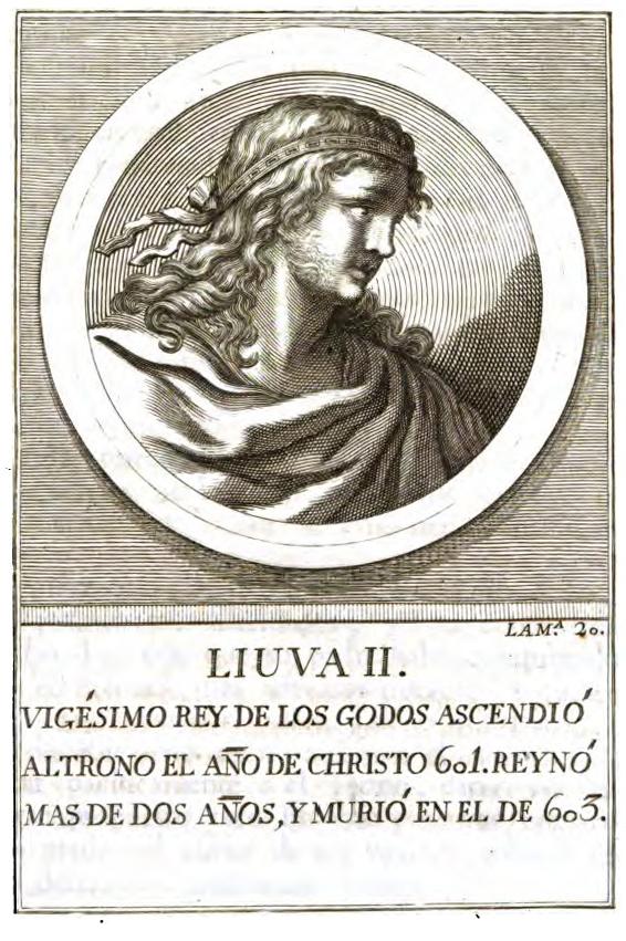 Rey Visigodo Liuva II