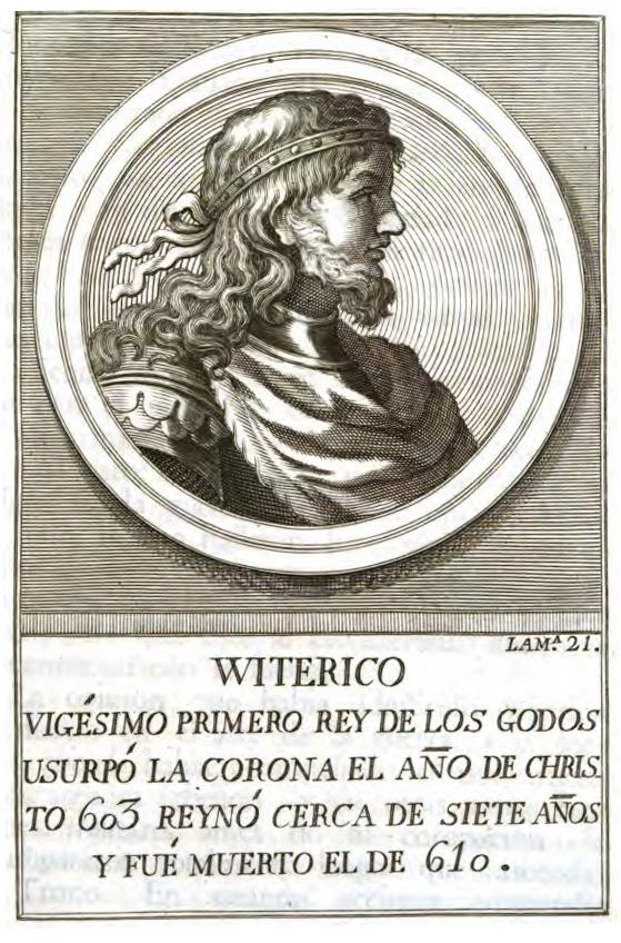 Rey Visigodo Witerico