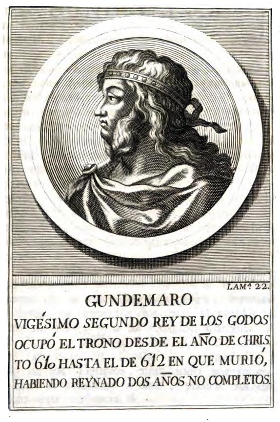 Rey Visigodo Gundemaro