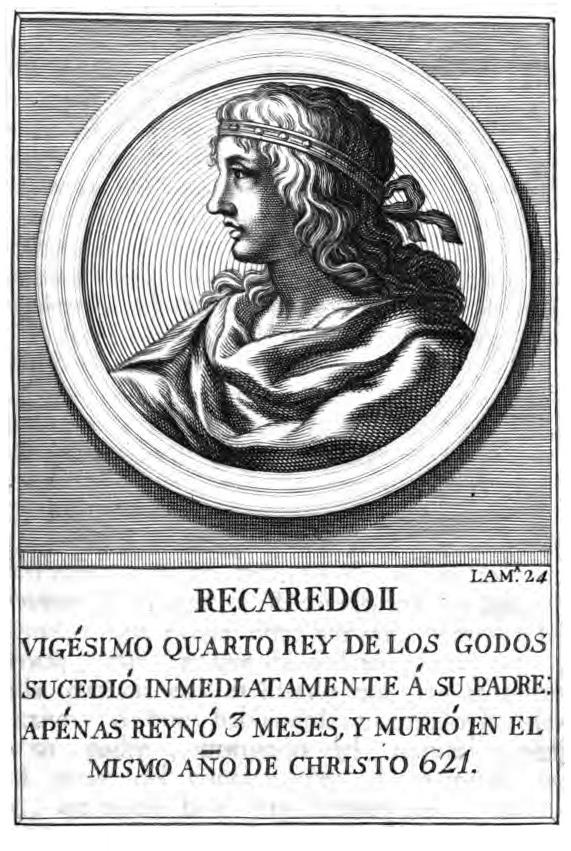 Rey Visigodo Recaredo II
