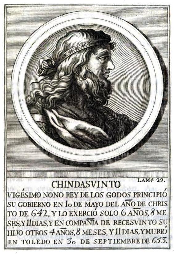 Rey Visigodo Chindasvinto