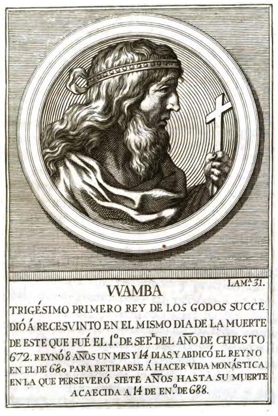 Rey Visigodo Wamba