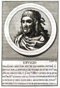 Reyes Visigodos - Ervigio