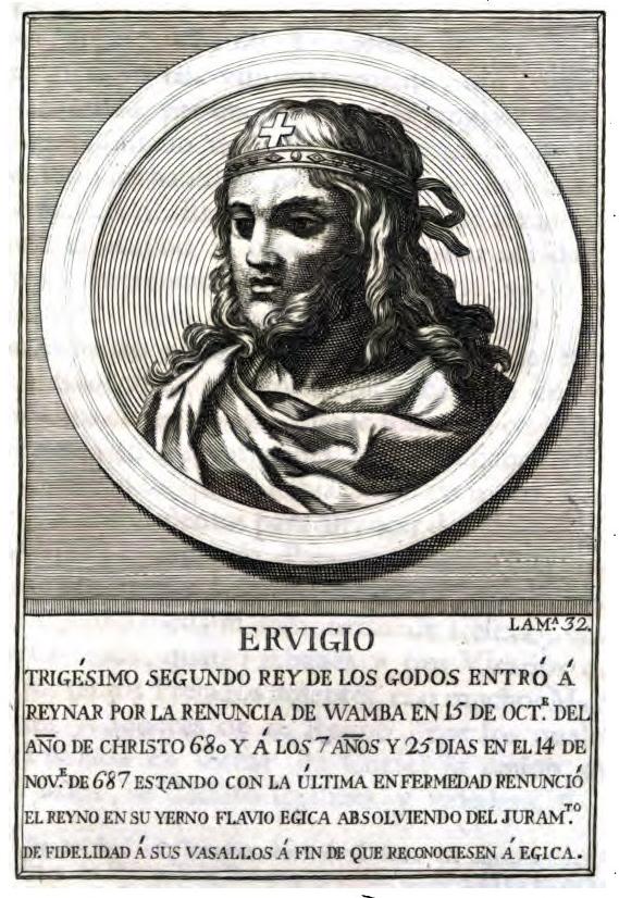 Rey Visigodo Ervigio