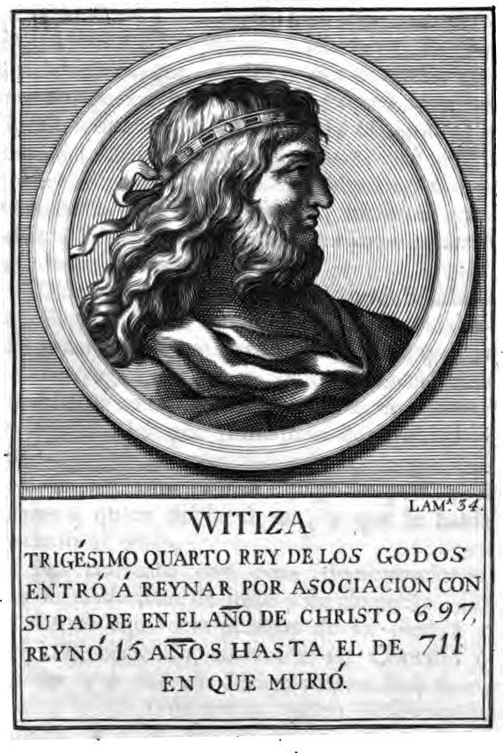 Rey Visigodo Witiza