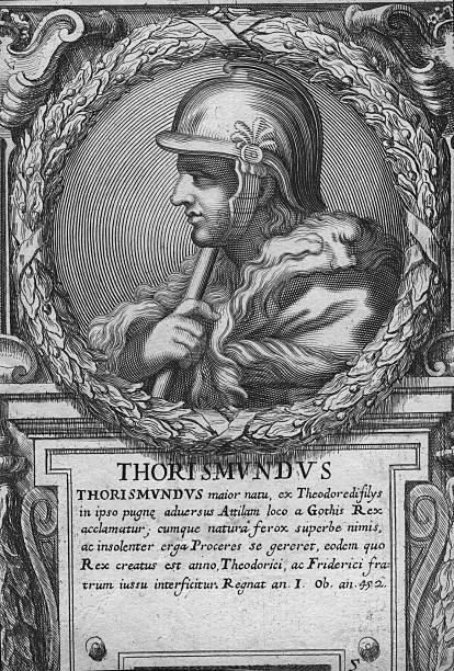 Thorismund King Goth (451-453)