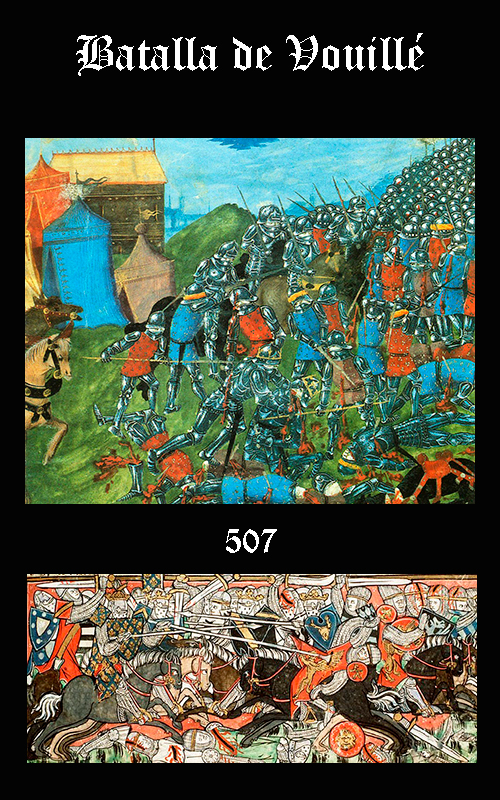 Somos Godos - HISTORIA Batalla de Vouillé (507)