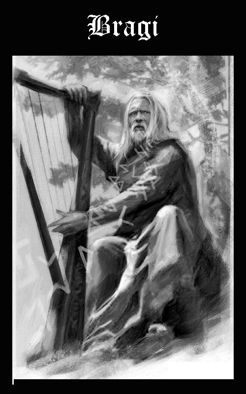 Mitología Nórdica Bragi