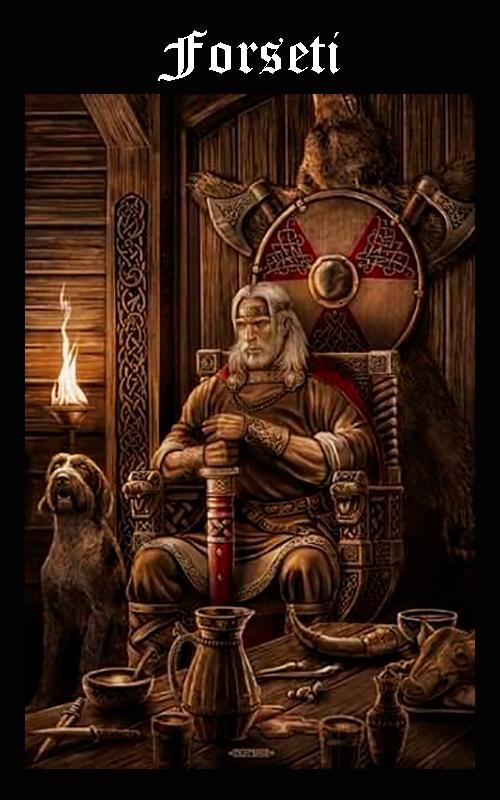 Mitología Nórdica Forseti
