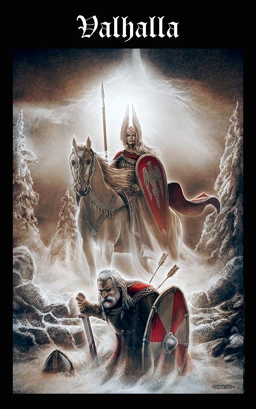 Mitología Nórdica Valhalla