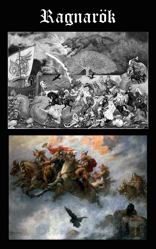 Mitología Nórdica Ragnarök
