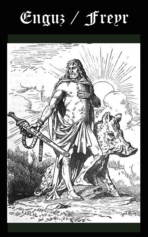 Enguz = Ignvi o Freyr