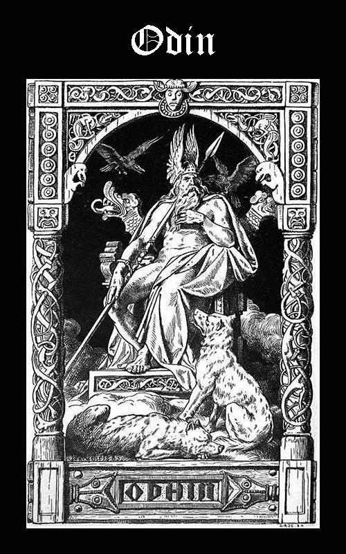 Somos Godos Mitología Nórdica Dios Odin