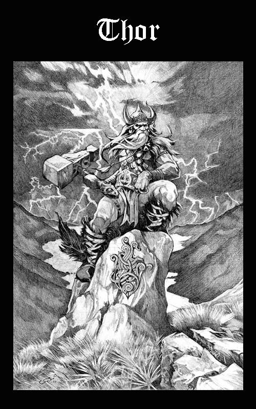 Somos Godos - Mitología -Thor