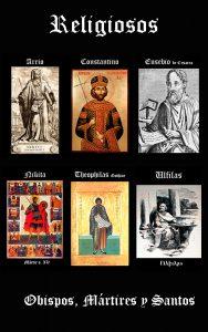 Religiosos: Obispos, Mártires y Santos
