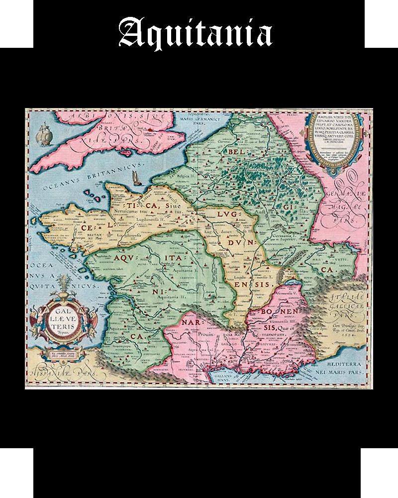 Somos Godos - Geografía Aquitania
