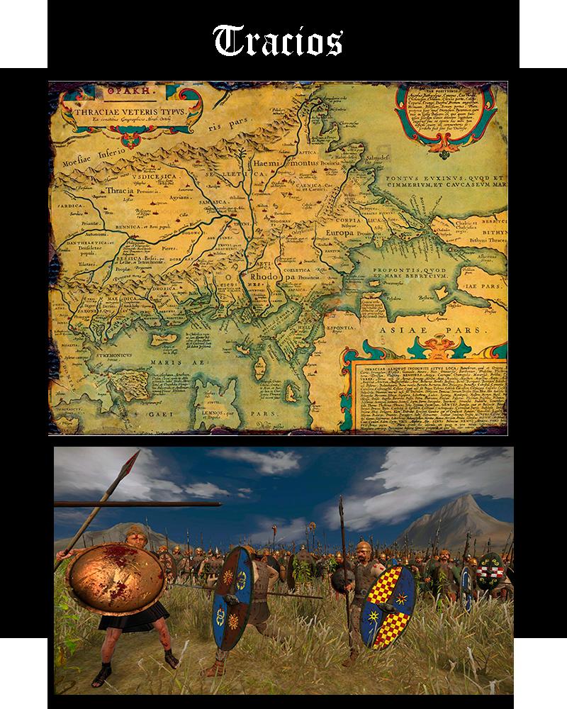 Somos Godos - Geografía / Pueblos y Tribus: Tracios