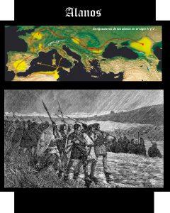 Somos Godos - Geografía : Pueblos y Tribus - Alauni