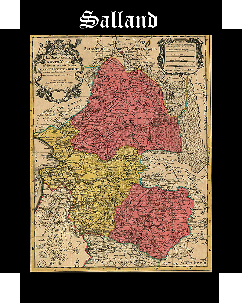Somos Godos GEOGRAFIA - Territorios: Salland