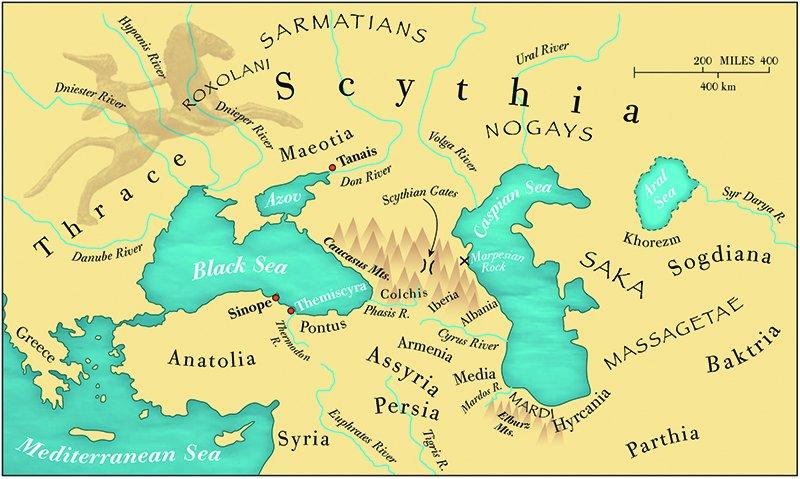 Somos Godos - Geografía : Pueblos y Tribus - Scythia