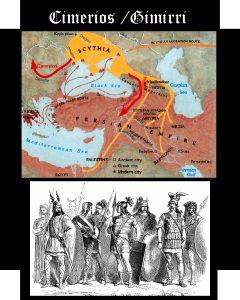 Somos Godos - Geografía - Pueblos y Tribus / Cimerios
