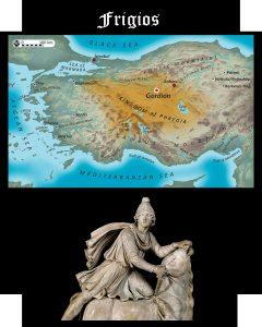 Somos Godos - Geografía - Pueblos y Tribus / Frigios