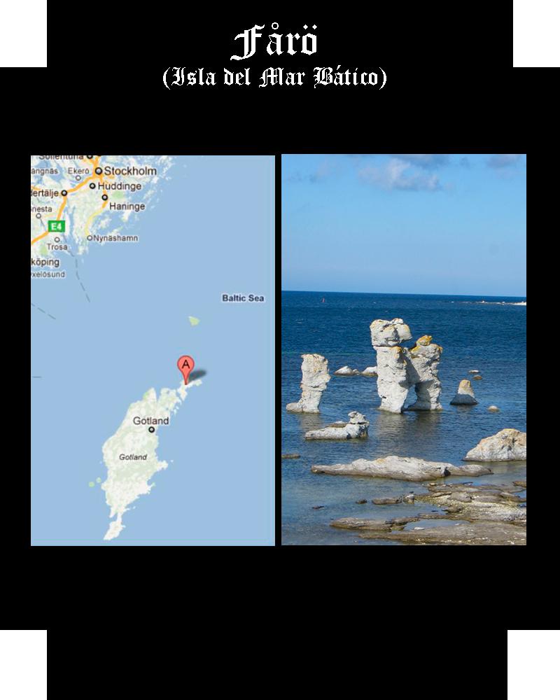 Somos Godos - Geografía - Topónimos: Fårö island