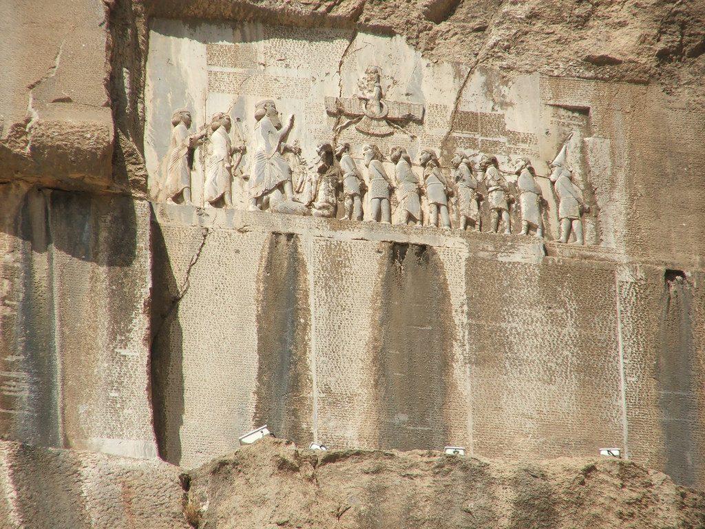 """Geografía - Pueblos y Tribus / Cimerios """"Gimirri"""" - La inscripción de Behistún"""