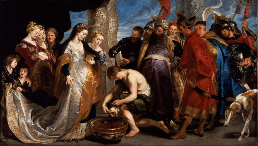 Somos Godos - Geografía / Masagetas - Tomyris y la cabeza de Ciro II