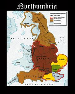 Somos Godos - Geografía - Territorios / Northumbria