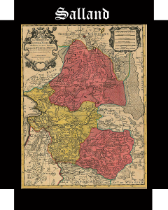 Somos Godos - Geografía - Territorios / Salland