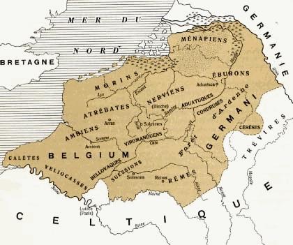 Tribu Celta Atrebates en La Galia