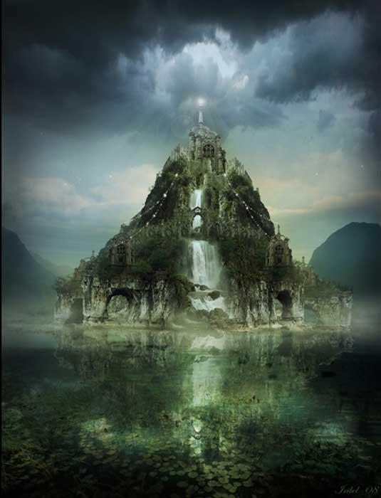 Isla mítica Abalus - (Avalon)