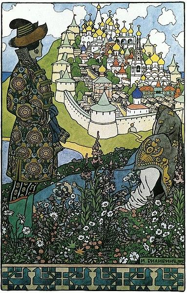 Isla mítica Buyan - (Baltia)