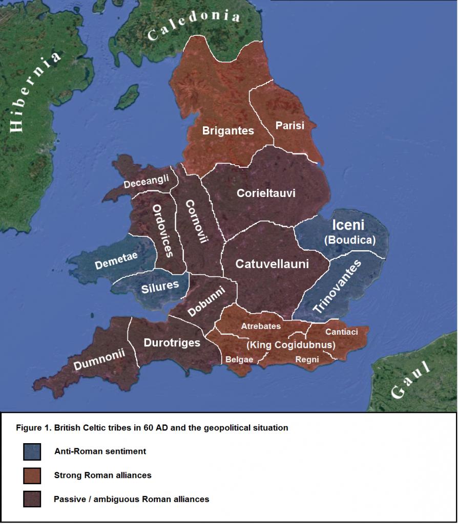 Tribus Celtas en Bretaña