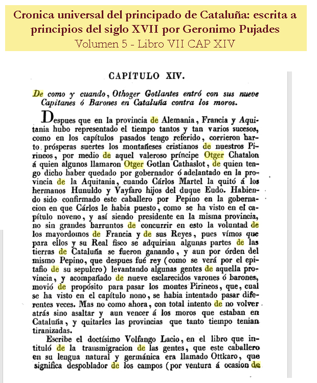 Crónica universal del principado de Cataluña - Escrita a principios del siglo XVII por Geronimo Pujades