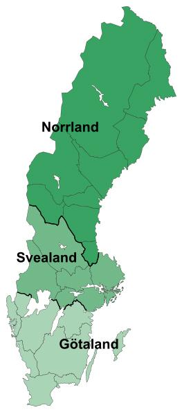Lands of Sweden / Gotaland