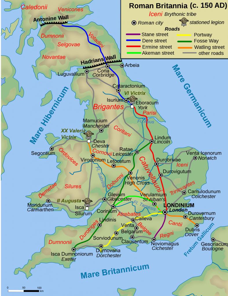 Tribus Celtas en Britania / Brigantes
