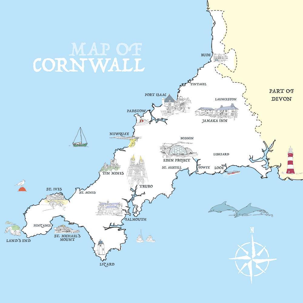 Tribus Celtas en Britania / Cornovios o Cornovii en Cornwall / Cornualles