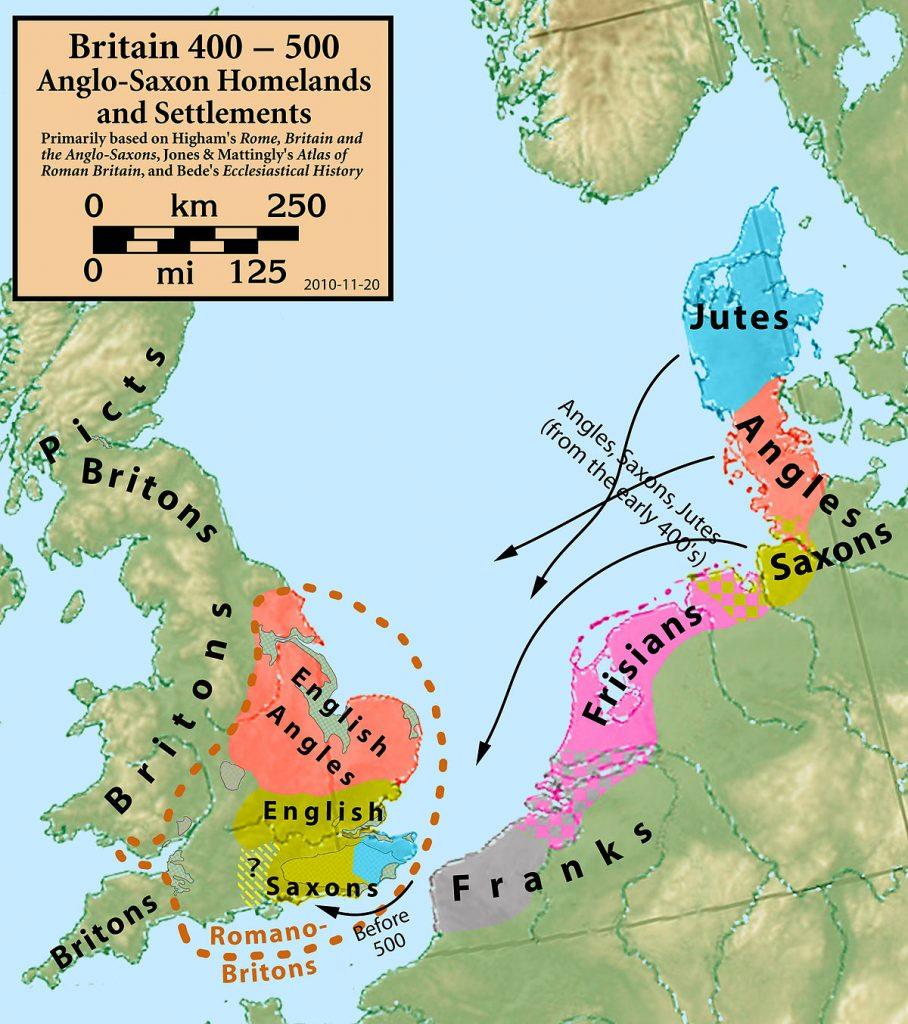 Somos Godos - Geografía - Pueblos y Tribus Germánicos / Sajones (Saxons)
